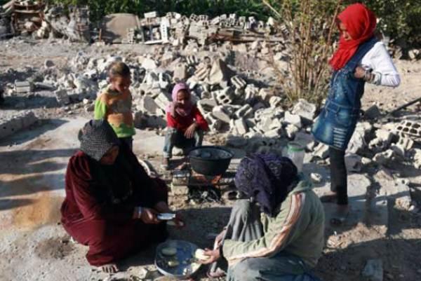 كارثة إنسانية في غوطة دمشق