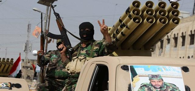 قوات سرايا السلام التابعة لمقتدى الصدر