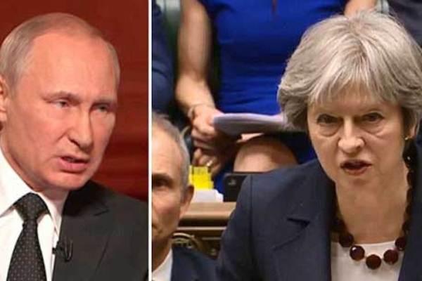 ماي ورد حاسم ضد بوتين