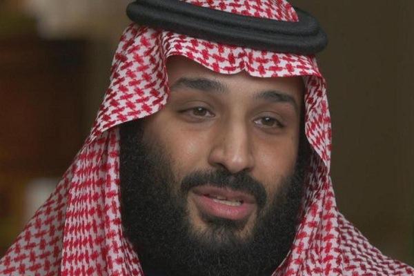 الأمير محمد بن سلمان خلال اللقاء