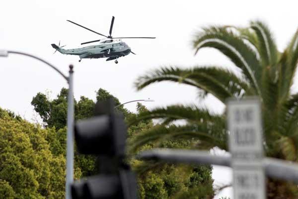 المروحية الرئاسية الأميركية