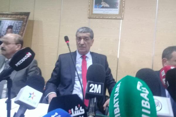 النائب العام لدى محكمة الاستئناف في الدار البيضاء يتحدث للصحافة