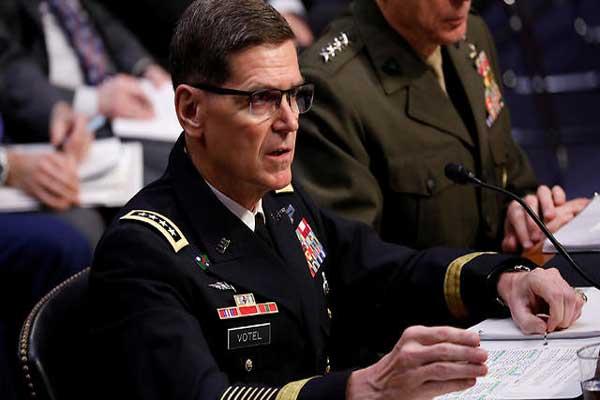قائد القوات الأميركية في الشرق الأوسط الجنرال جوزف فوتيل