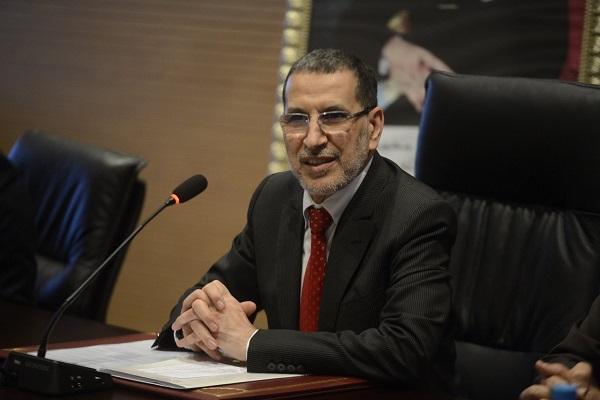 سعد الدين العثماني رئيس الحكومة وأمين عام حزب العدالة والتنمية المغربي