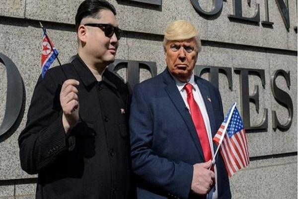 شبيه ترامب وكيم جونغ