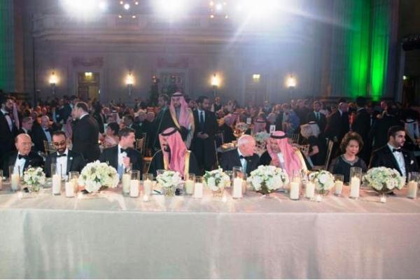 من حفل العشاء السنوي الأول للشراكة السعودية الأميركية