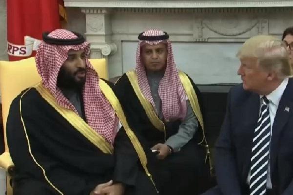 البيت الأبيض: ترمب ومحمد بن سلمان بحثا الوضع في اليمن