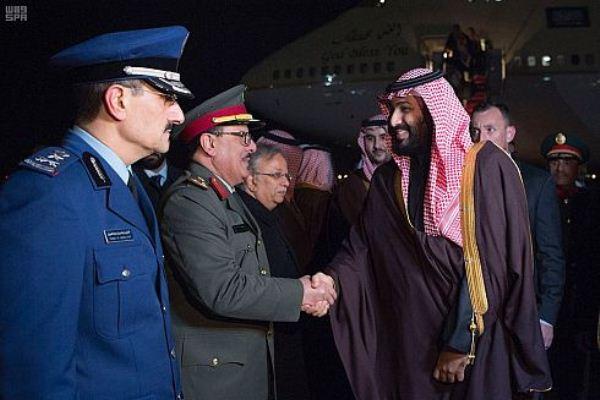 ولي العهد السعودي يصل العاصمة الأميركية في زيارة رسمية - واس