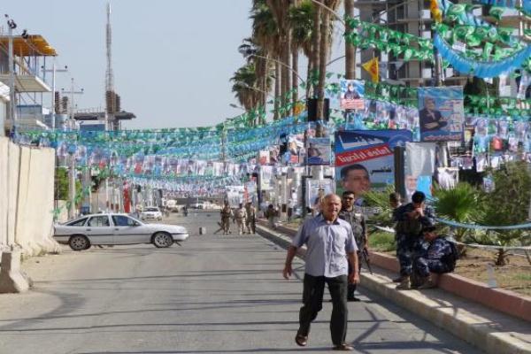 دعايات إنتحابية لمرشحين عراقيين