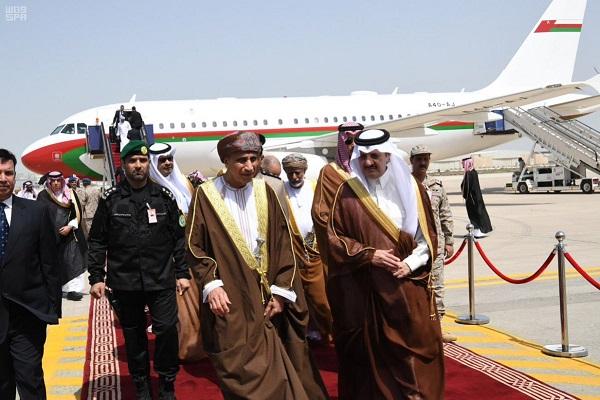 خلال وصول فهد بن محمود آل سعيد نائب رئيس الوزراء بسلطنة عمان