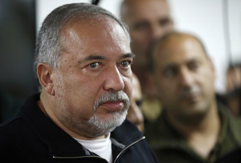 وزير الدفاع الاسرائيلي افيغدور ليبرمان