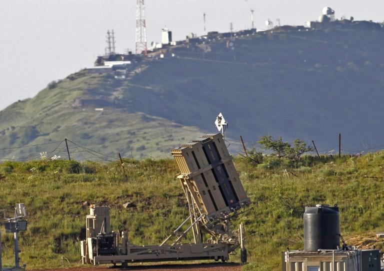 نظام للدفاع الجوي الاسرائيلي