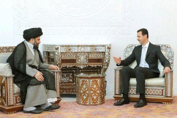 لقاء سابق جمع الأسد والصدر في دمشق