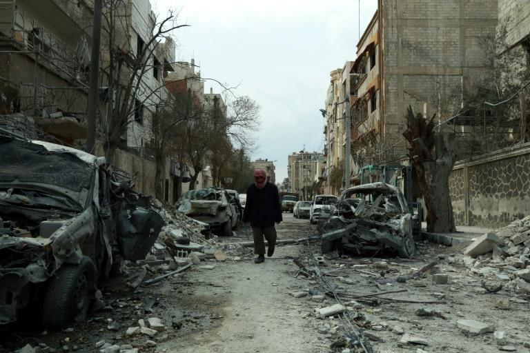 دمار في الغوطة الشرقية