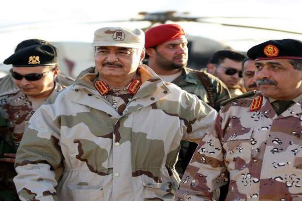 قائد الجيش الليبي