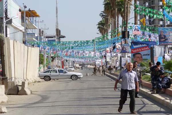 دعايات انتخابية تنتشر في شوارع العراق