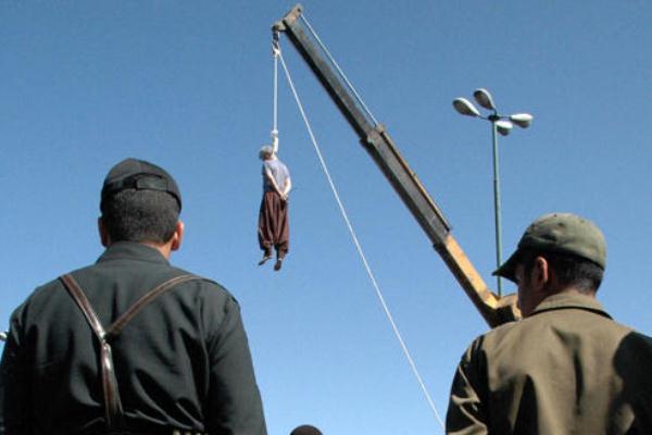 عملية إعدام في إيران