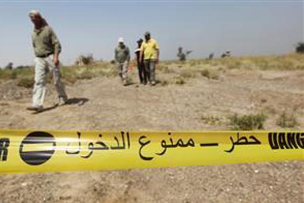 فرق مختصة لازالة الالغام في العراق