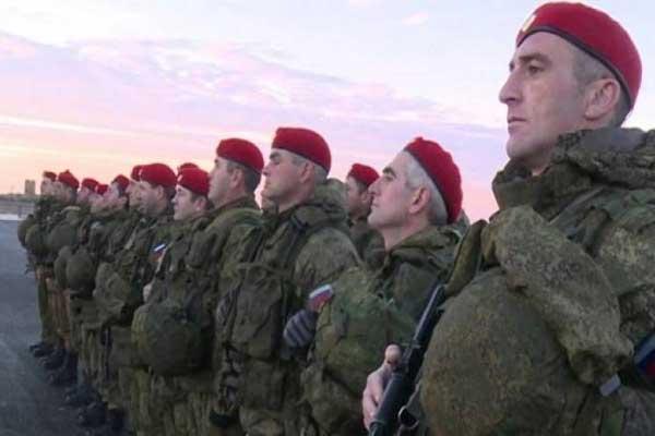 عناصر من الشرطة العسكرية الروسية في سوريا