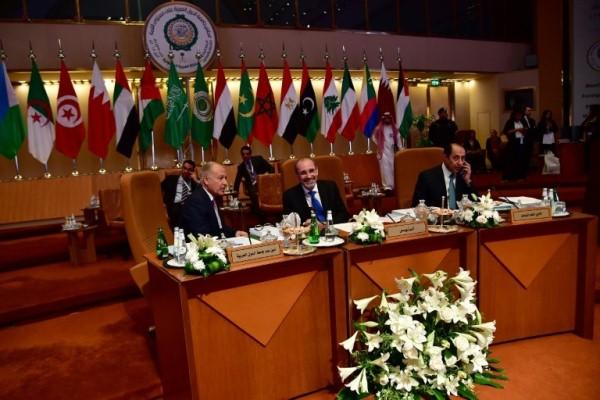 الامين العام للجامعة العربية ووزير الخارجية خلال الاجتماعات التحضيرية للقمة العربية