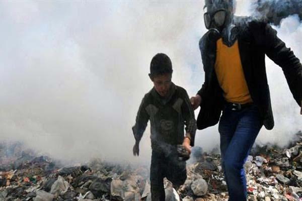 الهجوم الكيماوي في سوريا