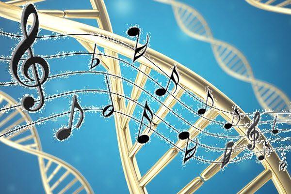 يخزنون الموسيقى في الحمض النووي