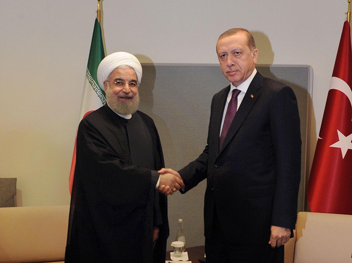 قمة سابقة بين روحاني وأردوغان