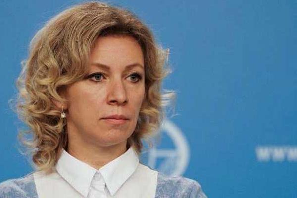 ماريا زاخاروفا المتحدث باسم الخارجية الروسية
