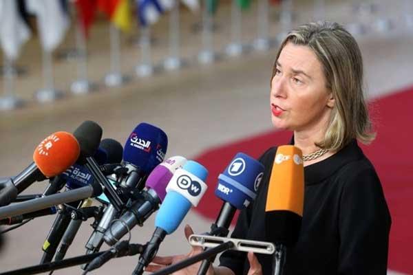 موغيريني: للحفاظ على الاتفاق النووي الإيراني