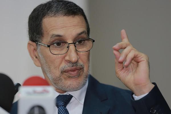 سعد الدين العثماني رئيس الحكومة المغربي