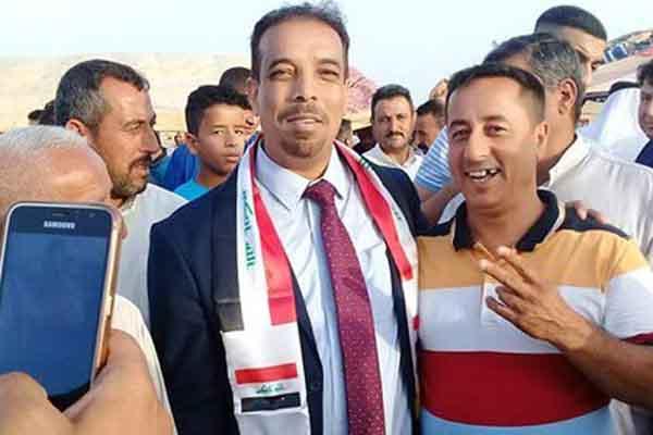 المرشح الانتخابي في الموصل عن ائتلاف علاوي القتيل فاروق محمد زرزور
