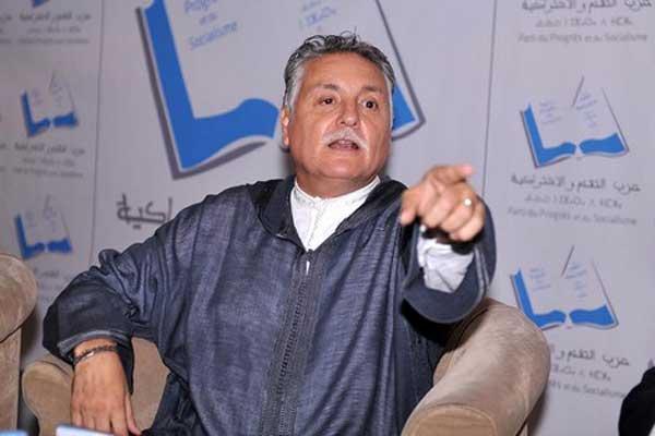 نبيل بنعبد الله أمين عام حزب التقدم والاشتراكية المغربي