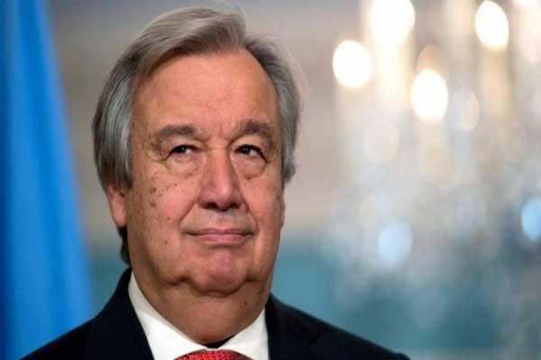 غوتيريش: توقيع الاتفاق ساهم في إرساء السلام