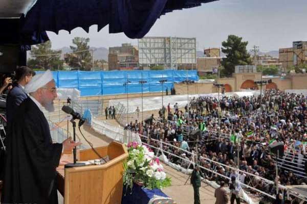 الرئيس الإيراني يحذر الولايات المتحدة