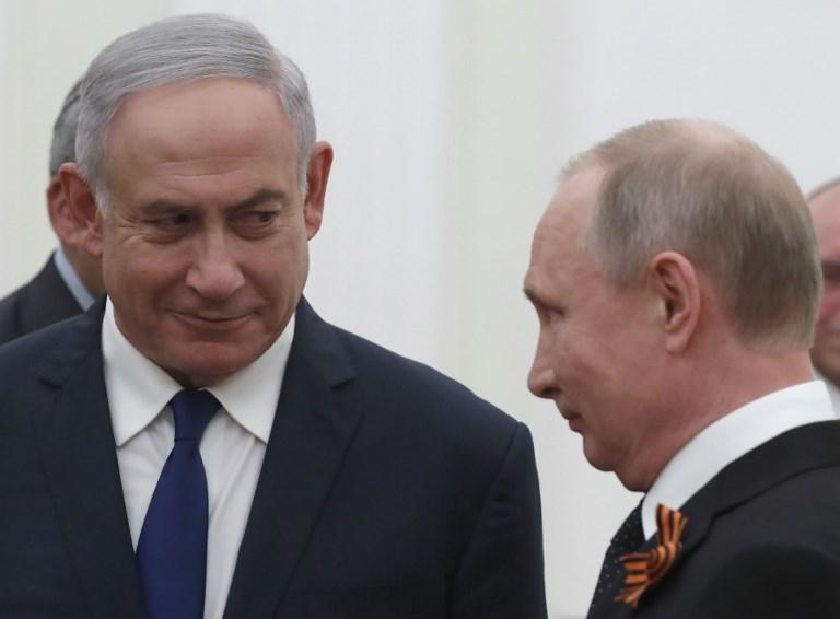 بوتين ونتانياهو