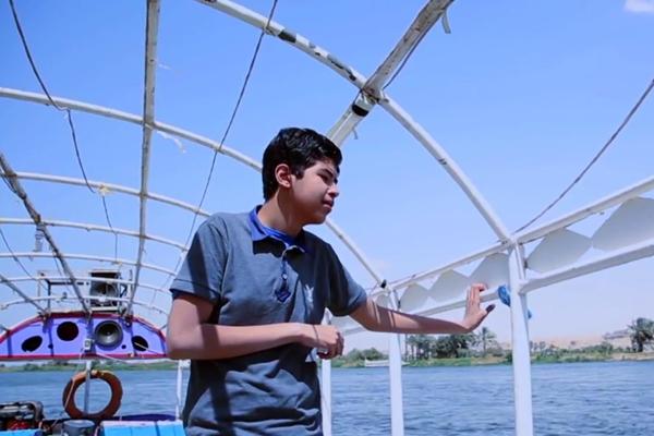 محمد أحمد الناجي الأصغر من كارثة غرق عبارة