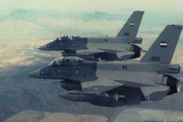 طائرتا اف 16 عراقيتان