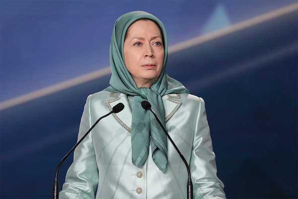 مريم رجوي رئيسة المجلس الوطني للمقاومة الايرانية 3