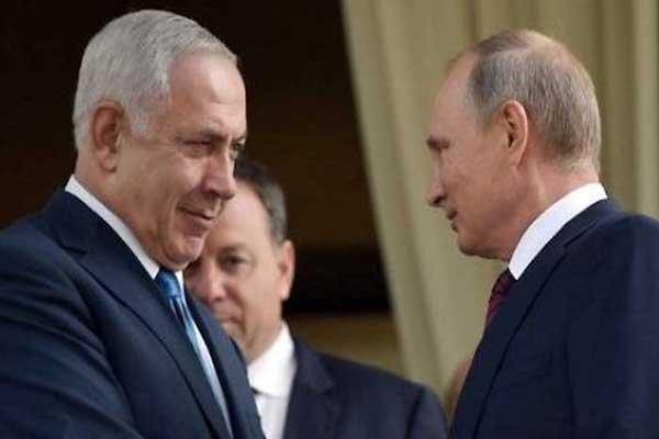 نتانياهو ولقاء مع بوتين الاربعاء