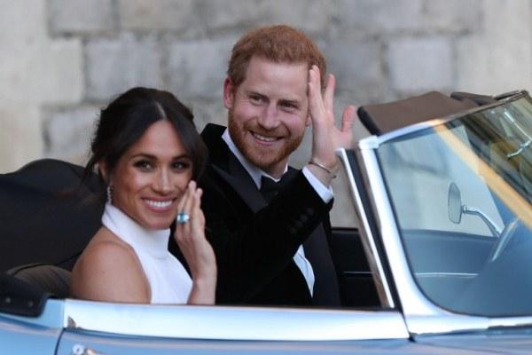 هاري وميغان بعد الزفاف الملكي