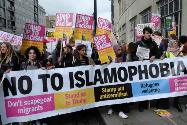 تظاهرة في لندن ضد تفشي الاسلاموفوبيا - أرشيفية