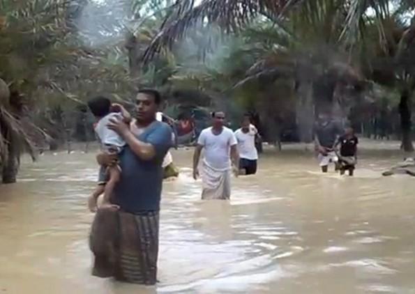 سقطرى تحت رحمة الاعصار ماكونو