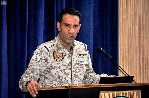 المتحدث باسم التحالف العربي لدعم الشرعية في اليمن العقيد الركن تركي المالكي