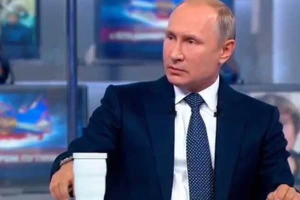 بوتين خلال الحوار