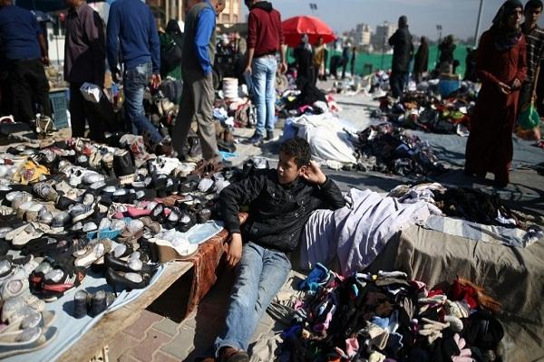سوق شعبي في مصر