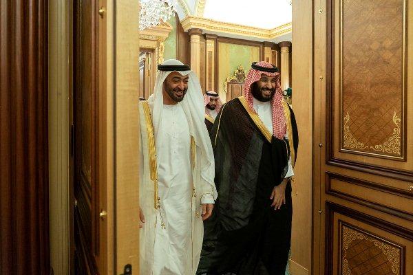 الأمير محمد بن سلمان والشيخ محمد بن زايد