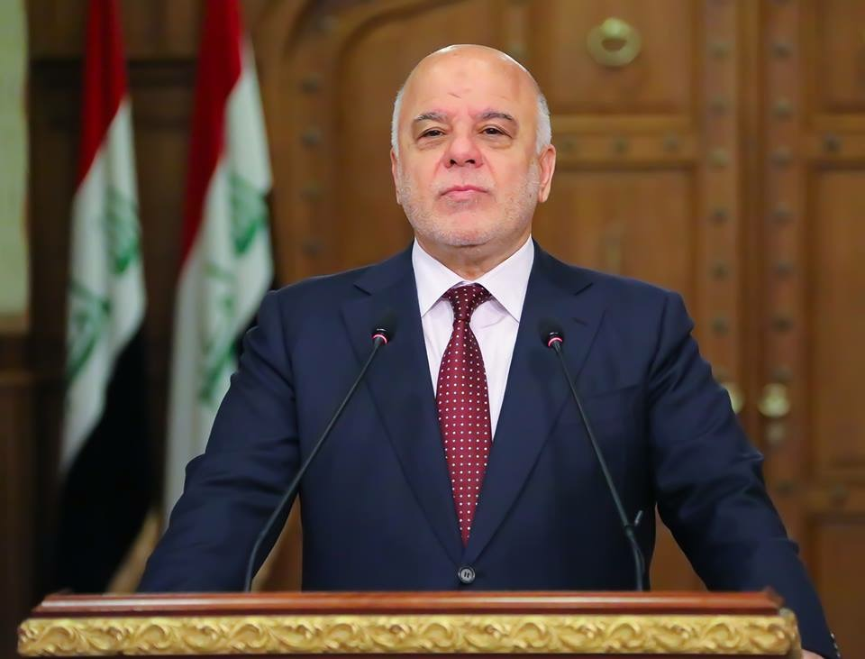 العبادي موجها كلمة الى العراقيين داعيا القوى السياسية للتعجيل بتشكيل الحكومة والبرلمان