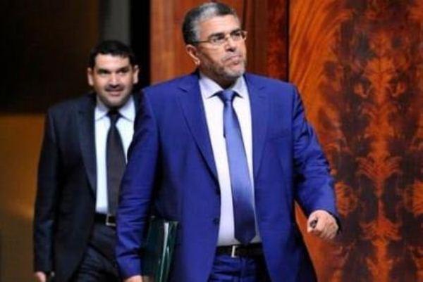 وزير الدولة المكلف حقوق الإنسان مصطفى الرميد