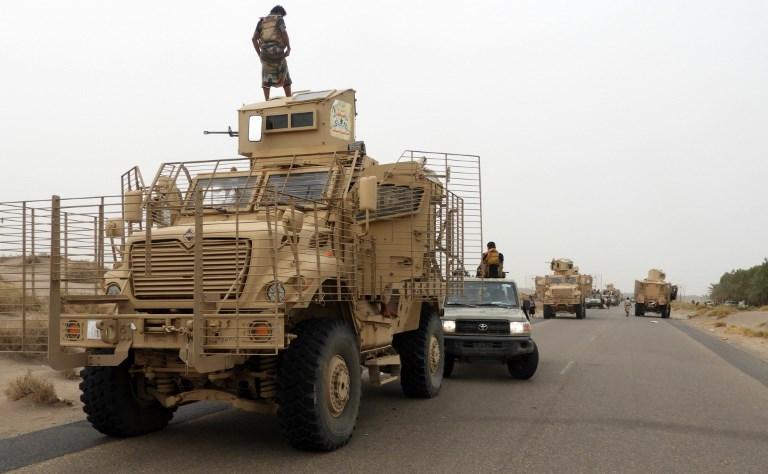القوات المشتركة في طريقها لتحرير مطار الحديدة