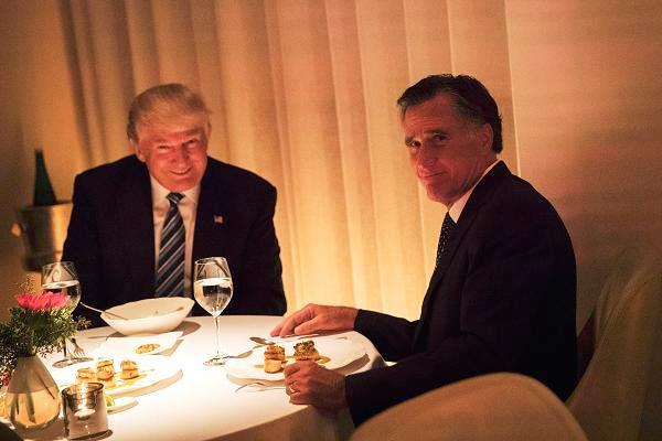عشاء يجمع الرئيس الأميركي والمرشح الجمهوري في انتخابات 2012 ميت رومني - أرشيفية